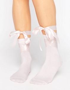 Носки с завязками ASOS - Розовый