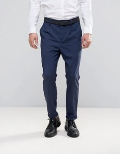 Зауженные брюки Jack & Jones Premium - Темно-синий