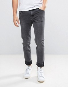 Выбеленные серые джинсы скинни Weekday Friday - Серый