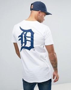 Длинная футболка Majestic Detroit Tigers - Белый