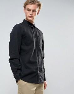 Черная выбеленная джинсовая рубашка Weekday Class - Черный