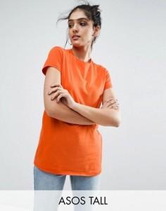 Футболка ASOS TALL - Оранжевый