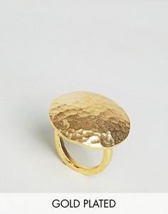 Броское овальное кольцо Ottoman Hands - Золотой