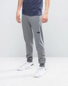 Узкие спортивные штаны серовато-лилового цвета The North Face Nse - Серый