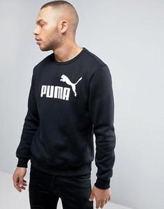 Черный свитшот с круглым вырезом Puma ESS No.1 838252 01 - Черный