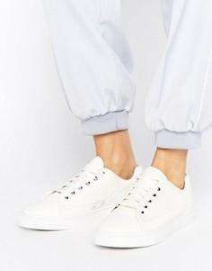 Белые низкие кроссовки G-Star Thec - Белый
