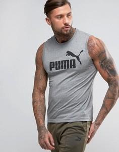 Серая футболка с короткими рукавами Puma ESS No. 1 838240 03 - Серый