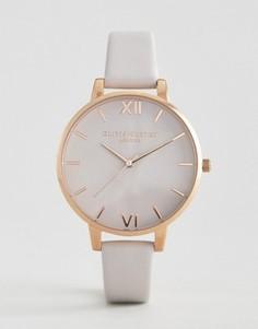 Часы с кожаным ремешком Olivia Burton Begin To Blush - Золотой