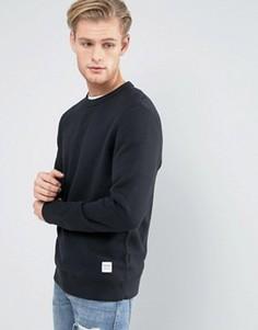 Черный свитшот Converse Essentials Luxe 10000654-A01 - Черный