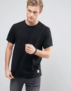 Черная футболка Converse Essentials Luxe 10000658-A01 - Черный