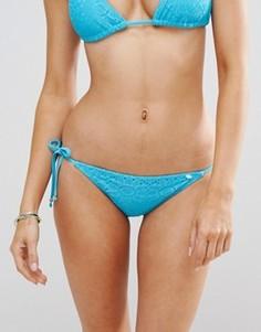 Трусики бикини с завязками по бокам Lepel Summer Days - Синий