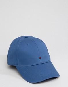 Синяя классическая бейсболка с флагом Tommy Hilfiger - Синий