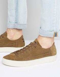 Замшевые кроссовки TOMS Lenox - Рыжий