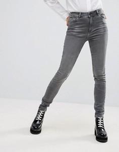 Выбеленные джинсы скинни ADPT - Серый