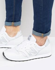 Белые классические кроссовки New Balance 373 ML373WT - Белый