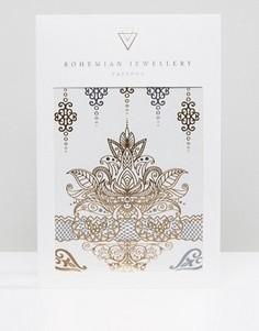 Татуировки для тела Bohemian Jewellery - Золотой
