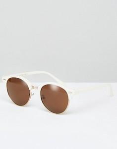 Солнцезащитные очки в стиле ретро AJ Morgan - Белый