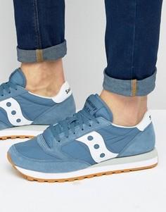 Синие кроссовки S2044-381 Saucony Jazz Original - Синий