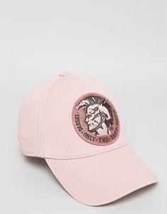 Розовая бейсболка Diesel Cindians - Розовый