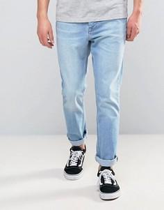 Суженные книзу джинсы в стиле 90-х Kubban - Синий