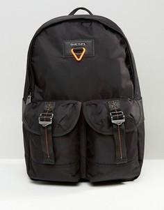 Черный рюкзак милитари Diesel - Черный