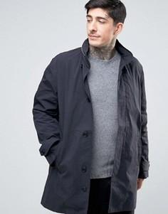 Пальто с капюшоном YMC - Черный