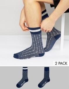 2 пары носков с узорами Levis - Синий Levis®