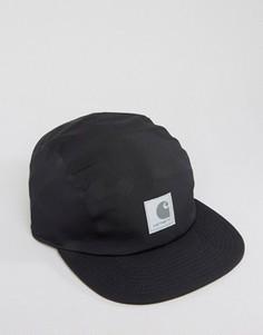 5-панельная кепка со светоотражающей нашивкой Carhartt WIP - Черный