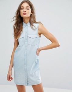 Платье в стиле 70-х без рукавов Levis - Синий Levis®