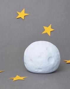 Меняющий цвет светильник в виде луны - Мульти Gifts