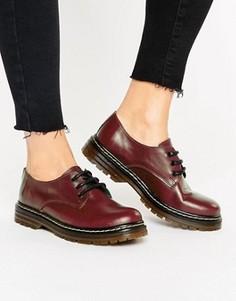 Кожаные туфли на шнуровке Park Lane - Красный