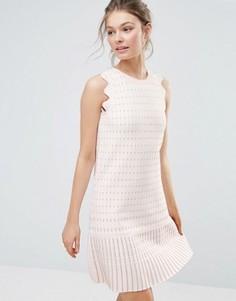 Цельнокройное платье Ted Baker Relioa - Розовый