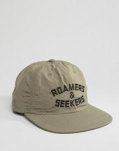 6-панельная кепка Poler - Бежевый