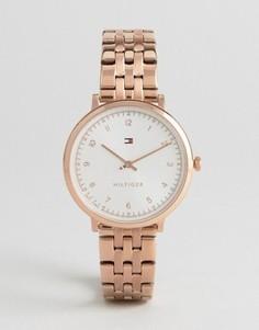 Золотисто-розовые часы Tommy Hilfiger Pippa - Золотой