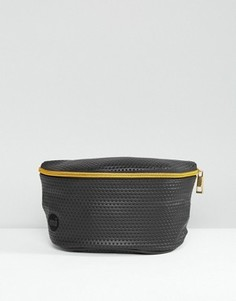 Черная сумка-кошелек на пояс с перфорацией Mi-Pac - Черный