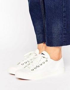 Белые кроссовки с шевронным узором G-Star - Белый