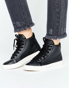 Высокие кроссовки Vero Moda - Черный