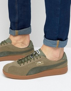 Зеленые кроссовки Puma Bluebird 36240106 - Зеленый