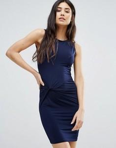 Платье с отделкой Girls On Film - Темно-синий