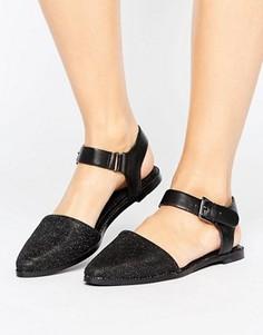 Туфли из 2-х частей с пряжками Vero Moda - Черный