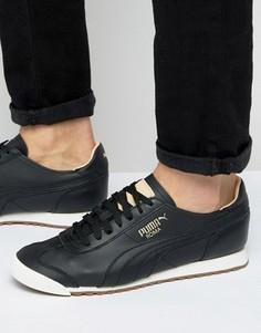 Черные кроссовки Puma Roma OG 36318402 - Черный