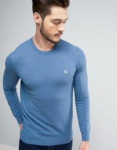 Бледно-синий джемпер с круглым вырезом Jack Wills - Синий