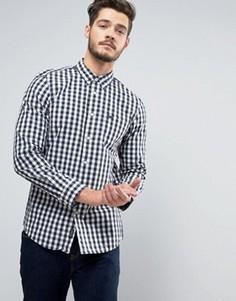 Рубашка в клетку классического кроя Jack Wills Blanford - Темно-синий