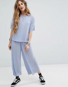 Плиссированная юбка-брюки Nobodys Child - Фиолетовый