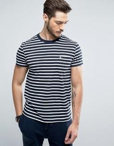 Темно-синяя узкая футболка с карманом Jack Wills Camberwell - Темно-синий