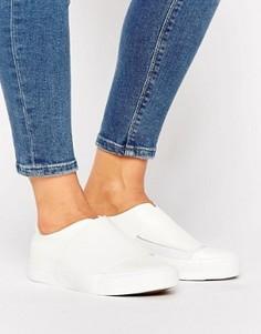 Кроссовки-слипоны New Look - Белый