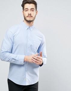 Голубая оксфордская рубашка классического кроя Jack Wills Wadsworth - Синий