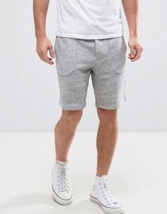 Трикотажные шорты с накладными карманами Jack Wills Allensmore - Серый