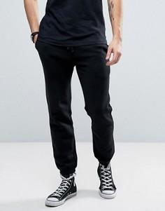 Суженные книзу черные спортивные штаны с логотипом Jack Wills Gosworth - Черный