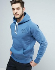 Худи синего цвета с логотипом Jack Wills Batsford - Синий